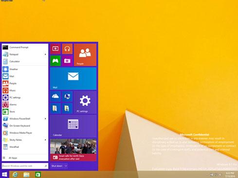 Windows Başlat Menüsü Gelişerek Geri Dönüyor