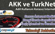 Adil Kullanım Kotasız İnternet Paketleri TurkNet