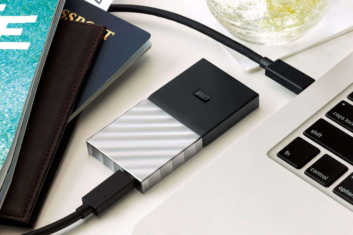 Western Digital Taşınabilir SSD Modeli
