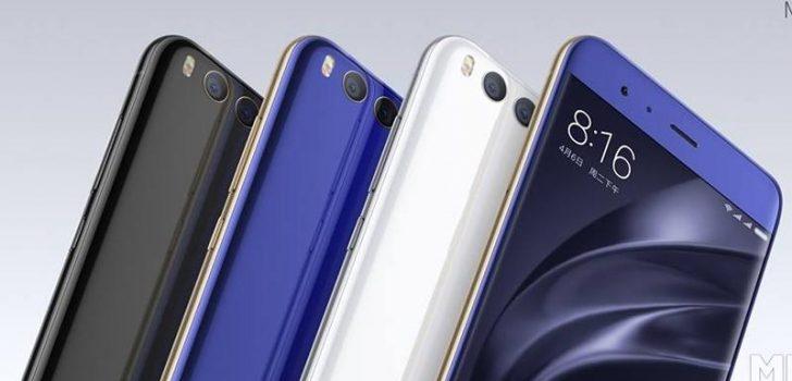 Xiaomi'nin Yeni Amiral Gemisi Xiaomi Mi 6 Tanıtıldı!